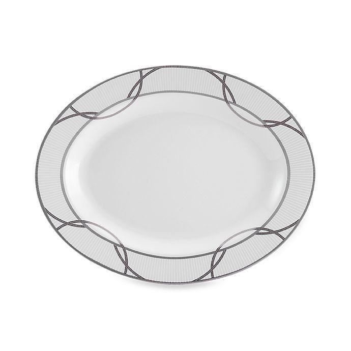 Alternate image 1 for Mikasa® Wedding Ring 14-Inch Oval Platter