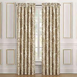 J. Queen New York™ Sandstone 2-Pack 84-Inch Rod Pocket  Window Curtain Panels