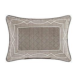 J. Queen New York™ Deco Boudoir Decorative Throw Pillow in Silver