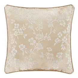 J. Queen New York™ Blossom Square Throw Pillow in Ivory