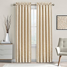 J. Queen New York™ Blossom 2-Pack 84-Inch Rod Pocket Window Curtain Panels in Ivory