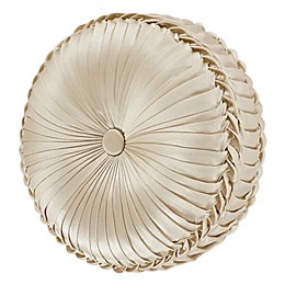 J. Queen New York™ Blossom Round Throw Pillow in Ivory