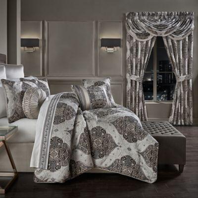 Desiree 4 Piece King Comforter Set In, J Queen New York Bedding Set
