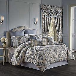 J. Queen New York™ Glendale 4-Piece King Comforter Set in Indigo
