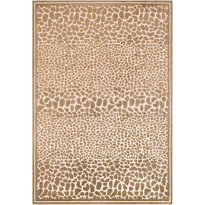 Alternate image 1 for Surya Basilica Animal 7'6 x 10'6 Area Rug in Butter/Taupe