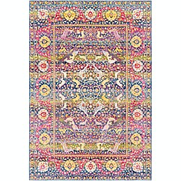 Surya Aura Silk Rug in Yellow