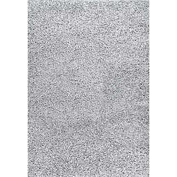 nuLOOM® Marleen 5' x 8' Plush Shag Area Rug in Light Grey