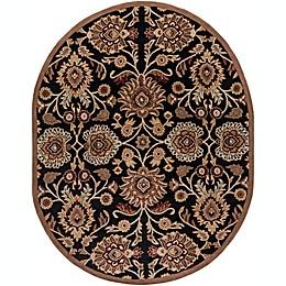 Surya Caesar Classic Floral Oval Rug