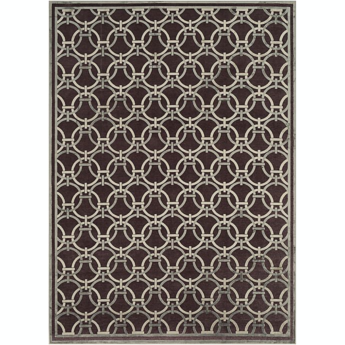 Alternate image 1 for Surya Basilica Geometric 7'6 x 10'6 Area Rug in Brown/Grey