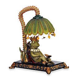 Sterling Frog Prince Table Lamp