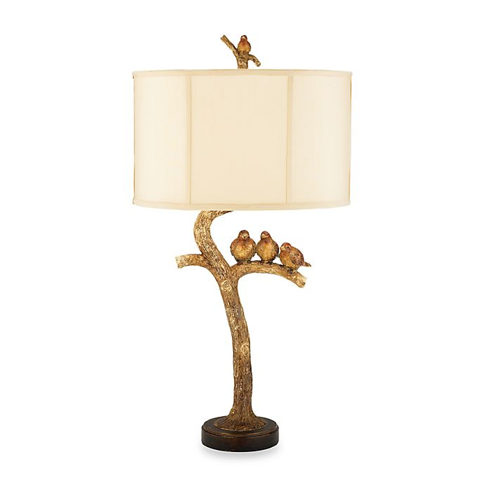 Alternate image 1 for Dimond Lighting Sterling Country Collection Three Bird Table Lamp
