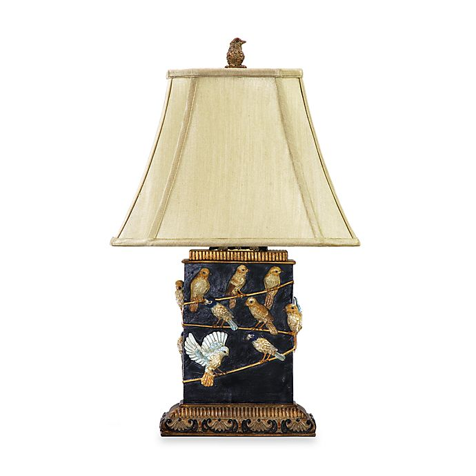 Alternate image 1 for Dimond Lighting Traditional 20-Inch Birds on Branch Table Lamp