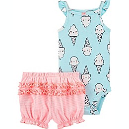 carter's® 2-Piece Bodysuit and Short Set