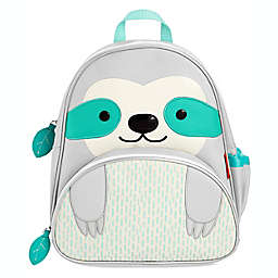SKIP*HOP® Zoo Sloth Zoo Backpack in Grey/White