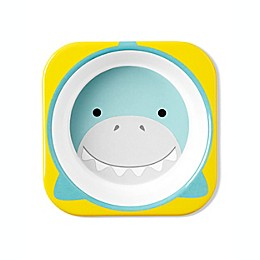 SKIP*HOP® Zoo Shark Bowl in Aqua/Yellow