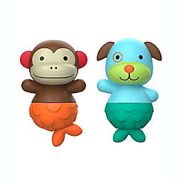 SKIP*HOP® Zoo® Bath Mix & Match Flippers Monkey/Dog