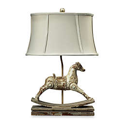 Dimond Lighting Traditional Parisian Clancey Court Rocking Horse Table Lamp