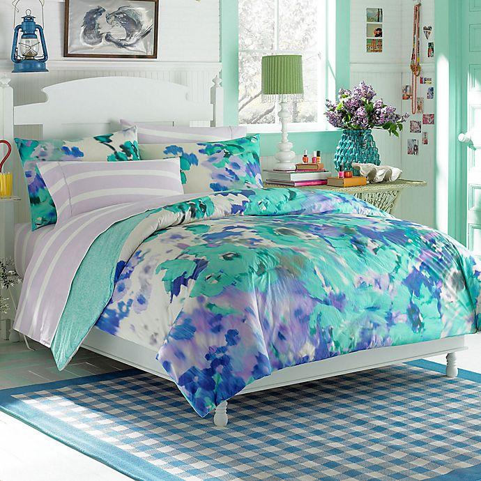Teen Vogue® Watercolor Garden Comforter Set