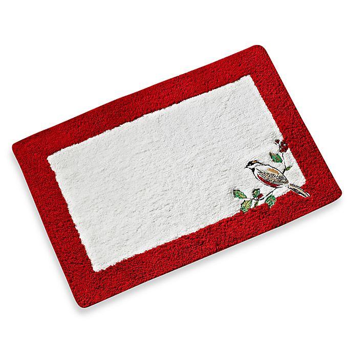 Lenox Winter Song Bath Rug Bed