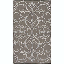 Surya Stallman Medallion Hand-Woven Area Rug in Dark Brown