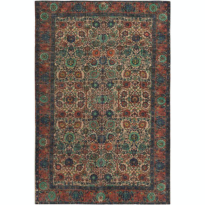 Alternate image 1 for Surya Shadi Global 8' x 10' Area Rug in Khaki/Rose