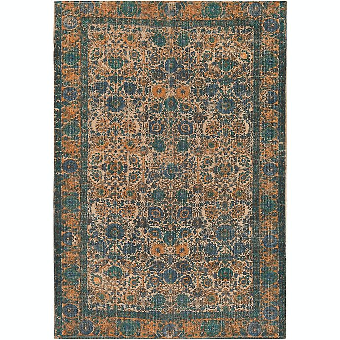 Alternate image 1 for Surya Shadi Global 8' x 10' Area Rug in Khaki/Teal
