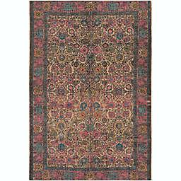 Surya Shadi Global 8' x 10' Area Rug in Khaki/Bright Pink