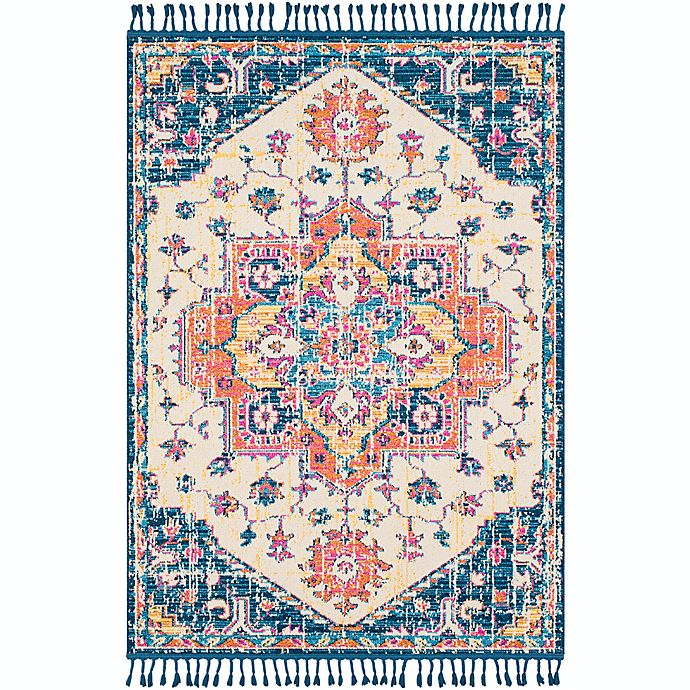 Alternate image 1 for Surya Love Transitional 2' x 3' Accent Rug in Navy/Sky Blue