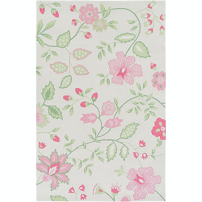 Alternate image 1 for Surya Skidaddle Floral and Paisley Rug