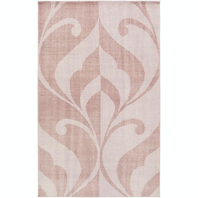 Alternate image 1 for Surya Paradox Medallions and Damask 2' x 3' Accent Rug in Mauve