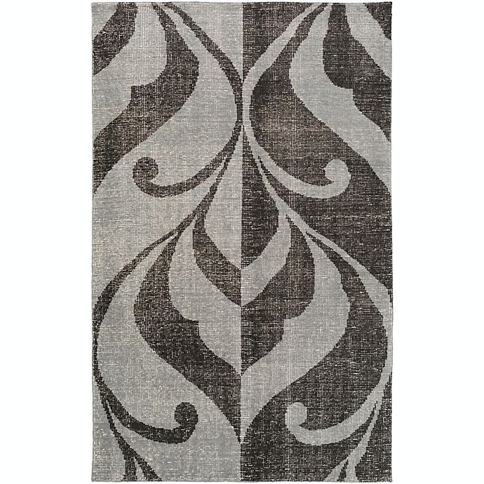 Alternate image 1 for Surya Paradox Medallions and Damask 2' x 3' Accent Rug in Black