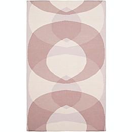 Surya Taurus Circle Hand-Woven Area Rug