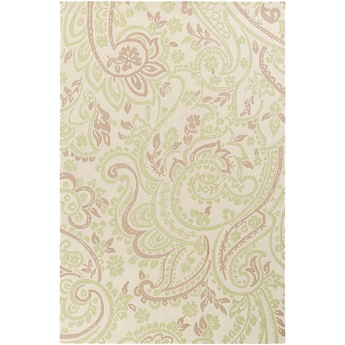 Alternate image 1 for Surya Lullaby Floral 2' x 3' Accent Rug in Mint