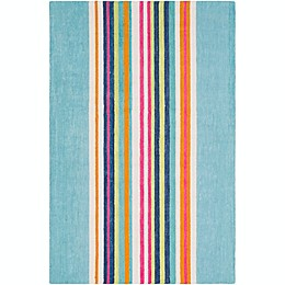 Surya Technicolor Striped Rug