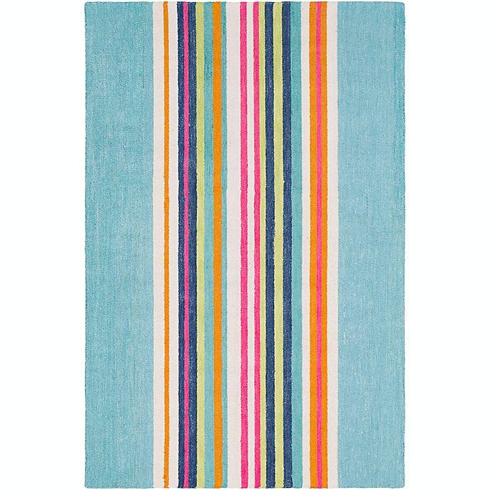 Alternate image 1 for Surya Technicolor Striped Rug