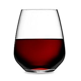 Luigi Bormioli Crescendo SON.hyx® Stemless Wine Glasses (Set of 4)