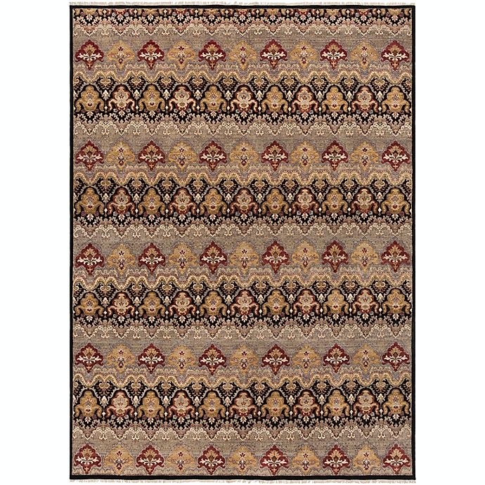 Alternate image 1 for Surya Cambridge Medallion 8'6 x 11'6 Hand Knotted Area Rug in Medium Grey