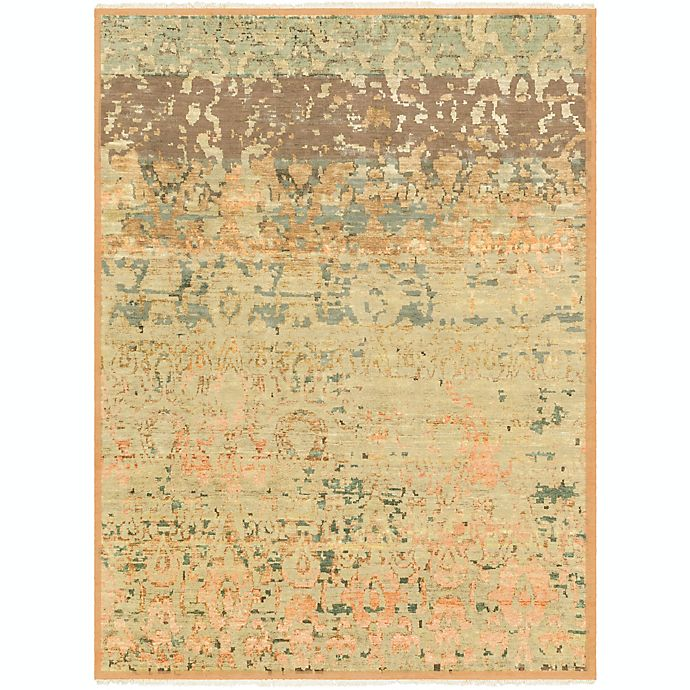 Alternate image 1 for Surya Cheshire Classic 8'6 x 11'6 Hand-Knotted Area Rug in Camel/Lime