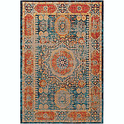 Surya Amsterdam 8' x 10' Handwoven Area Rug in Classic Bright Blue