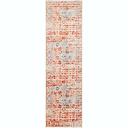 Surya Ephesians Vintage 2' 7 x 9' Runner in Grey/Red
