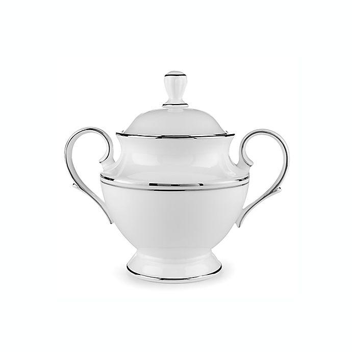 Alternate image 1 for Lenox® Federal Platinum™ Covered Sugar Bowl