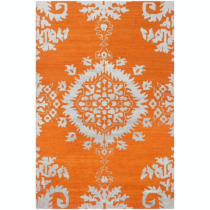 Alternate image 1 for Safavieh Stone Washed Kay 3' x 5' Hand-Knotted Area Rug in Gold