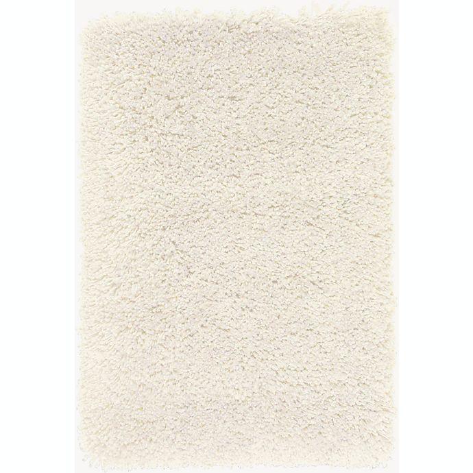 Alternate image 1 for Surya Goddess 2' x 3' Hand-Loomed Shag Area Rug in Cream