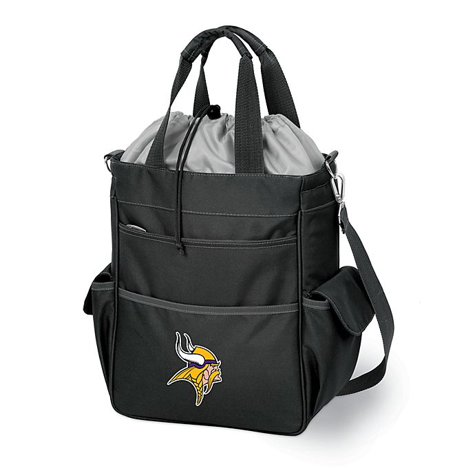 Alternate image 1 for Activo Minnesota Vikings Insulated Cooler in Black