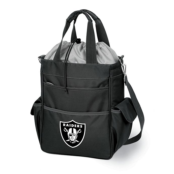 Alternate image 1 for Activo Insulated Oakland Raiders Cooler in Black