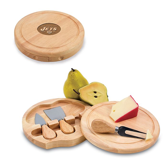 Alternate image 1 for Picnic Time® New York Jets Brie Cheese Board Set