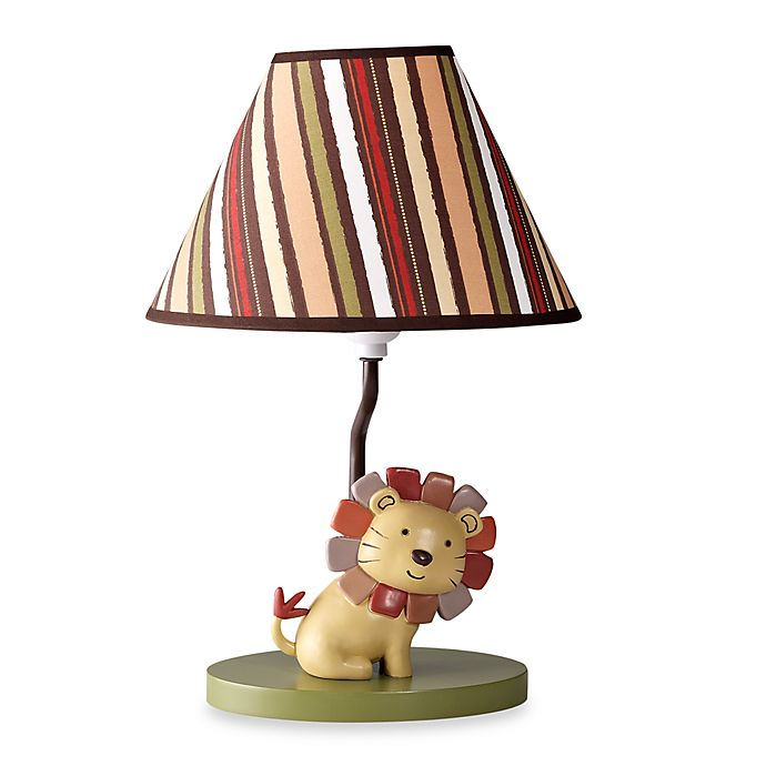 Neutral Nursery Room Decor Lion King, Jungle Lamp Nursery