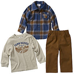 Carhartt® 3-Piece T-Shirt, Flannel Shirt and Canvas Pant Set