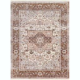 Surya Ephesians Vintage 7'10 x 10'3 Area Rug in Brown