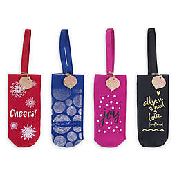 Holiday Wine Tote Bag Collection
